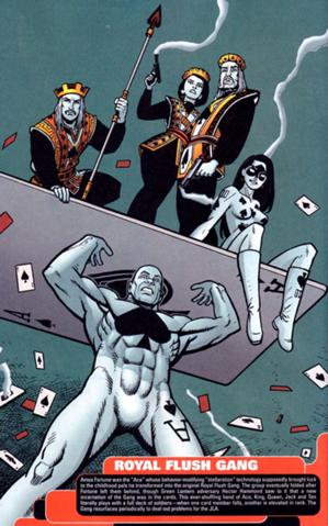 Royal Flush Gang by DC Comics